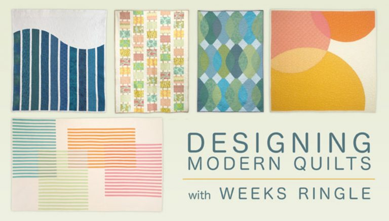 Designing Modern Quilts