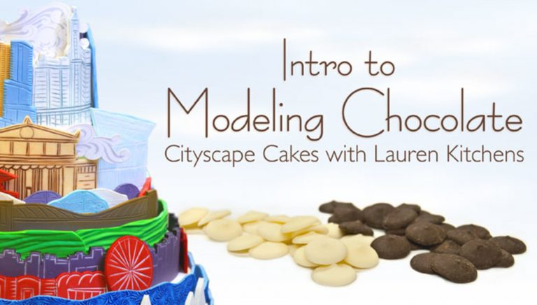 Intro to Modeling Chocolate: Cityscape Cakes