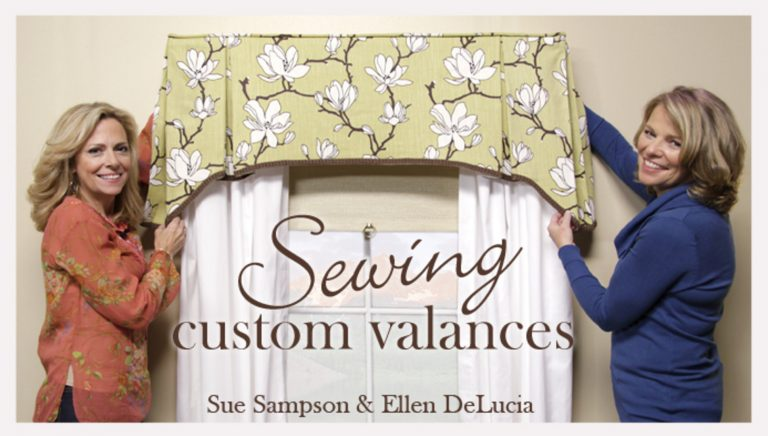 Sewing Custom Valances