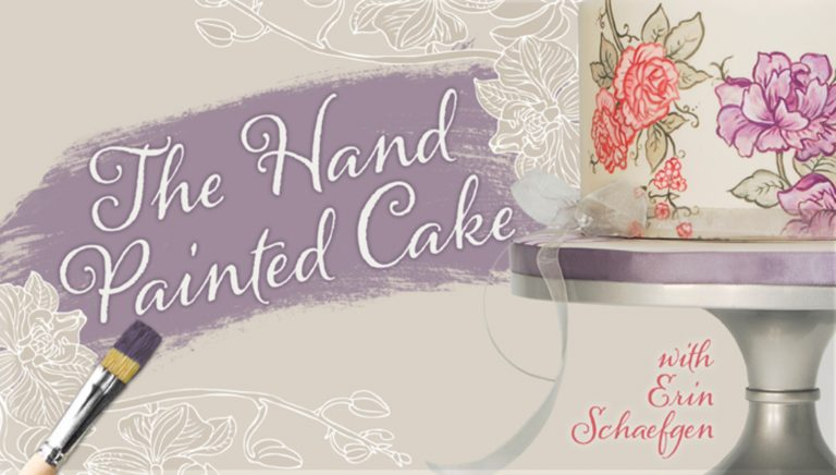 The Hand-Painted Cake
