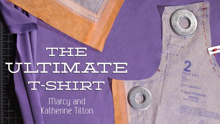 The Ultimate T-Shirt: Fitting & Construction