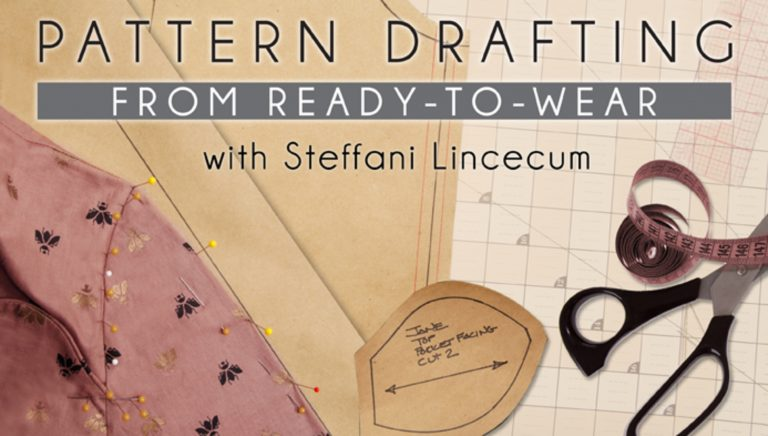 Pattern Drafting from Ready-to-Wear