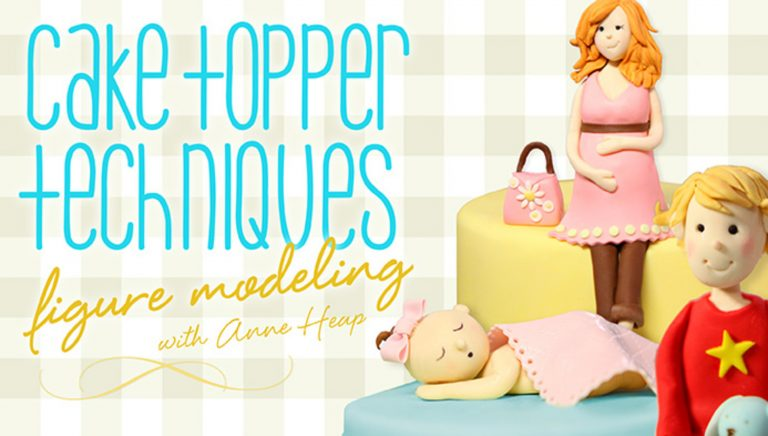 Cake Topper Techniques: Figure Modeling