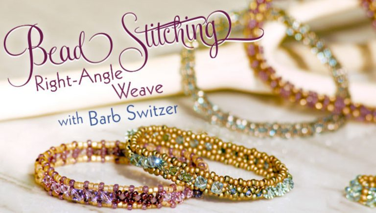 Bead Stitching: Right-Angle Weave