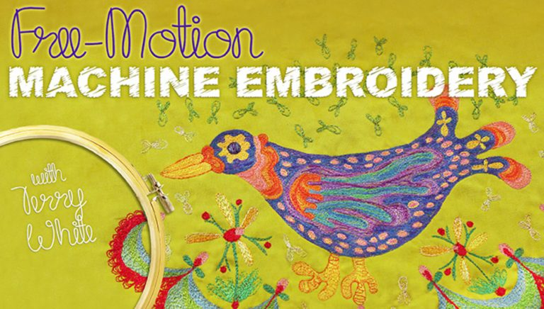 Free-Motion Machine Embroidery