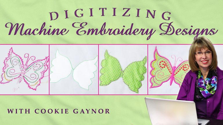 Digitizing Machine Embroidery Designs