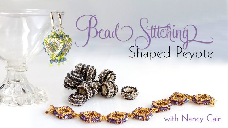 Bead Stitching: Shaped Peyote