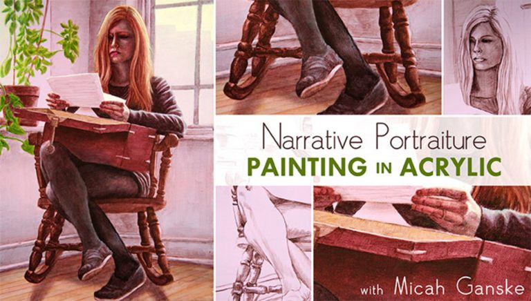 Narrative Portraiture: Painting in Acrylic