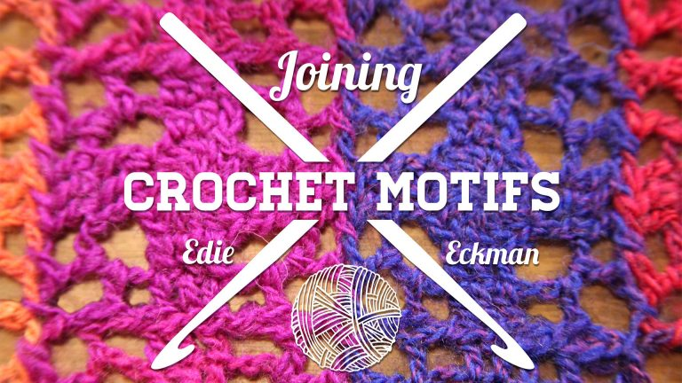 Joining Crochet Motifs