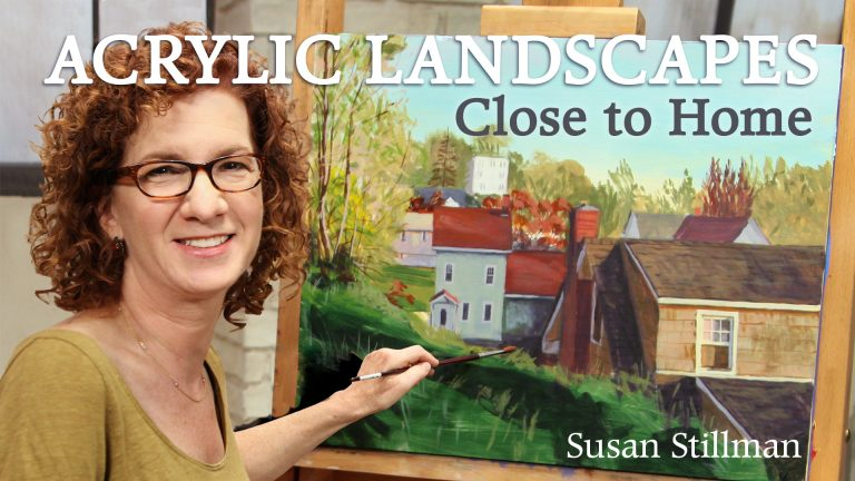 Acrylic Landscapes Close to Home