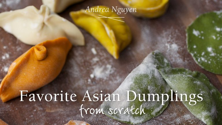 Favorite Asian Dumplings from Scratch