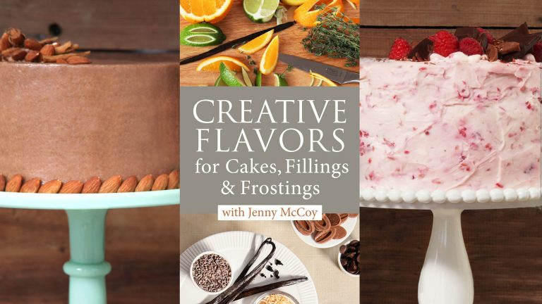 Creative Flavors for Cakes, Fillings & Frostings