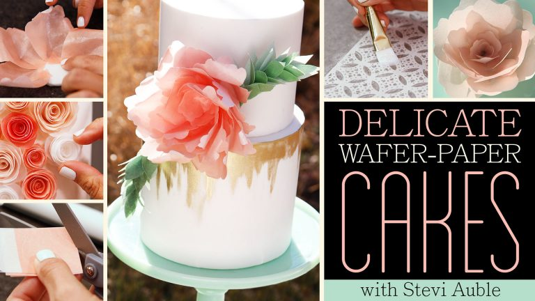 Delicate Wafer-Paper Cakes