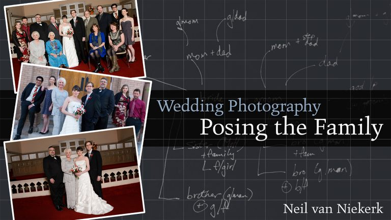 Wedding Photography: Posing the Family