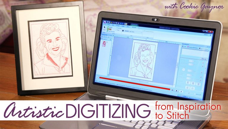 Artistic Digitizing: From Inspiration to Stitch