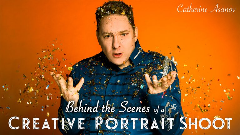 Behind the Scenes of a Creative Portrait Shoot