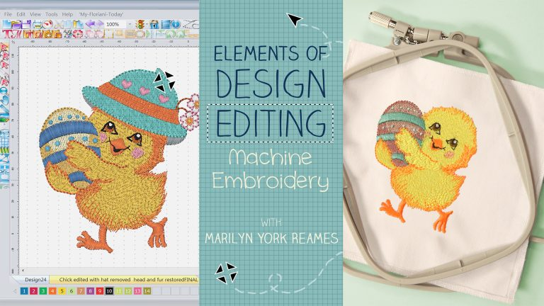 Elements of Design Editing: Machine Embroidery