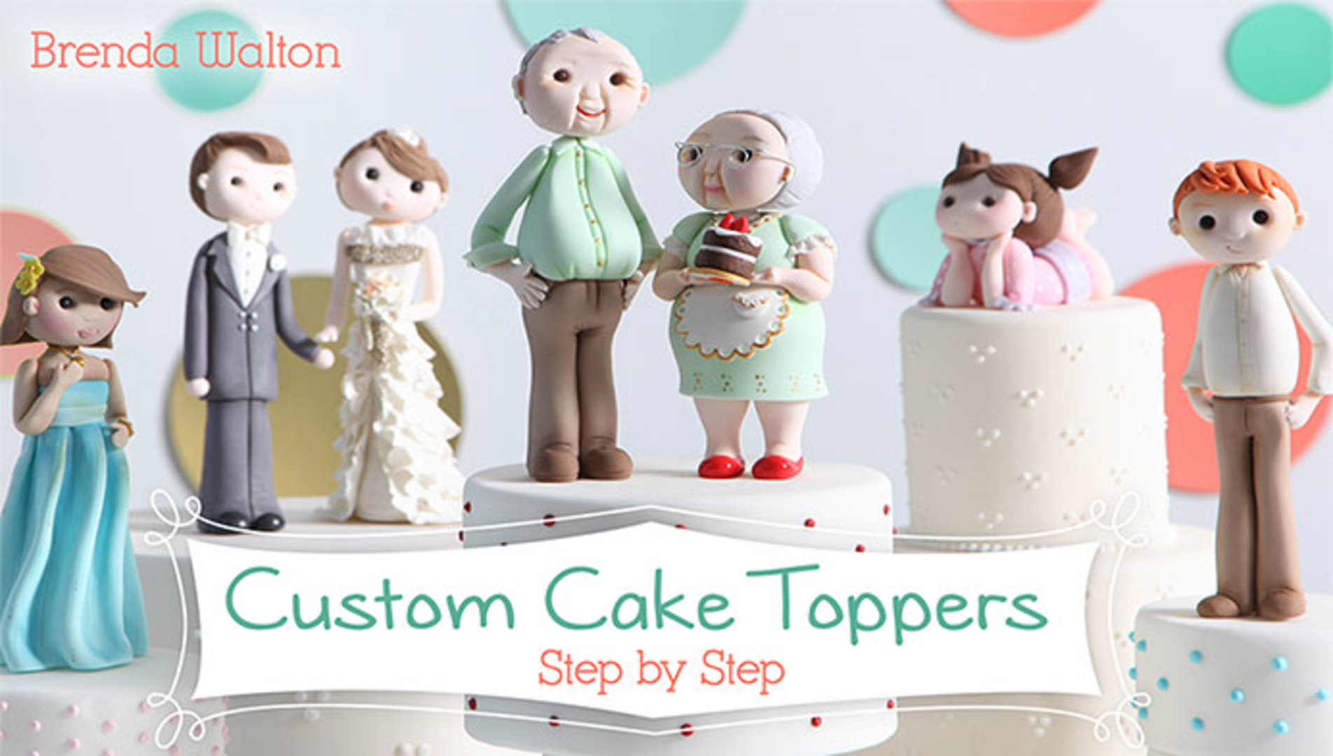 Custom Cake Toppers Step By Step Craftsy