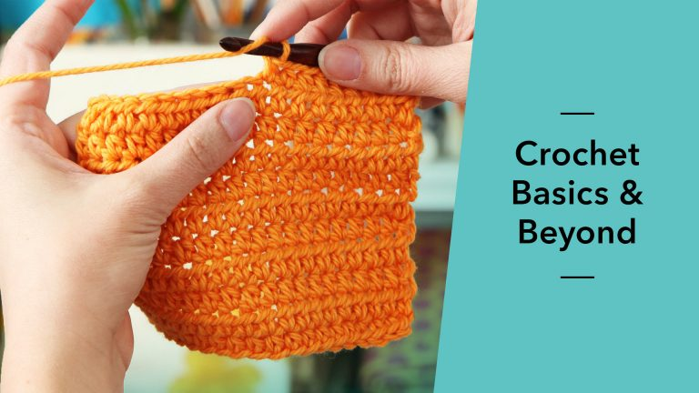 Crochet: Basics & Beyond