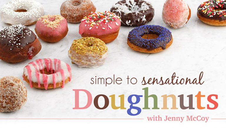 Simple to Sensational Doughnuts