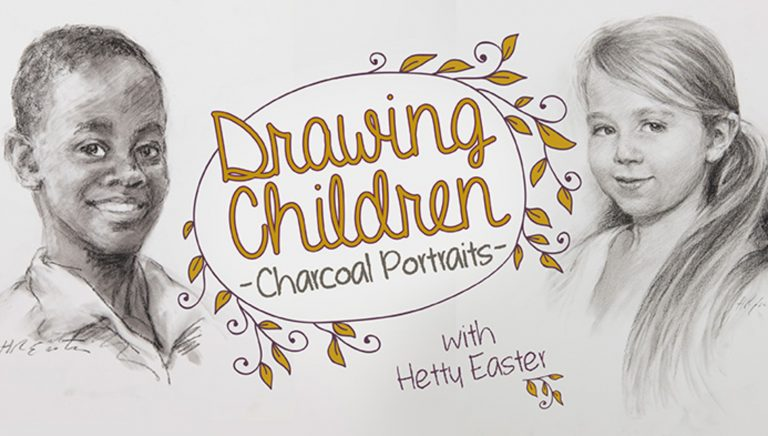 Drawing Children: Charcoal Portraits
