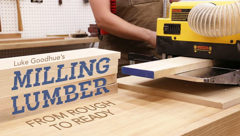 Milling Lumber: From Rough to Ready