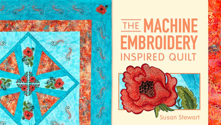 The Machine Embroidery Inspired Quilt
