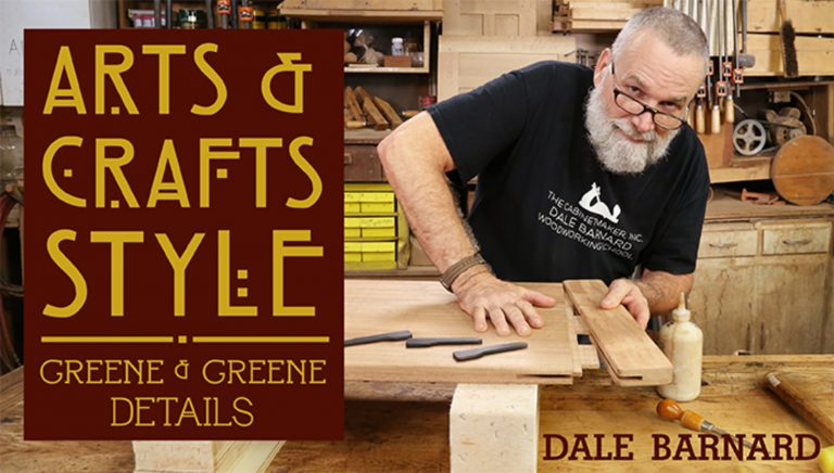 Arts & Crafts Style: Greene & Greene Details
