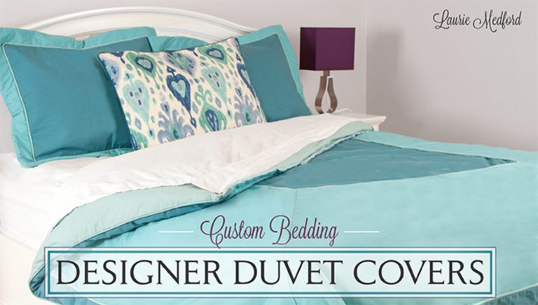 Custom Bedding: Designer Duvet Covers
