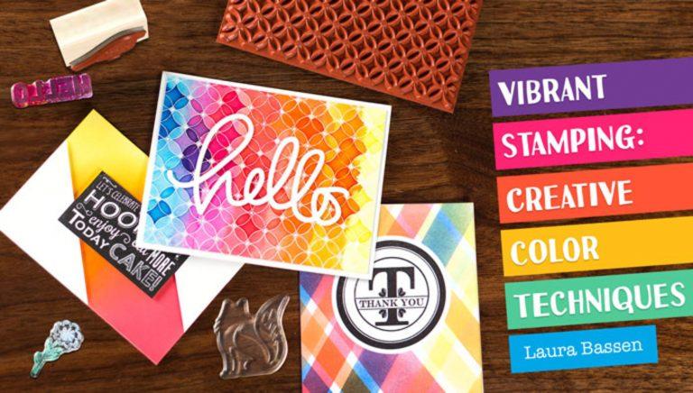 Vibrant Stamping: Creative Color Techniques