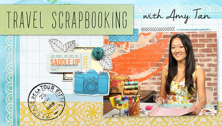 Travel Scrapbooking With Amy Tan