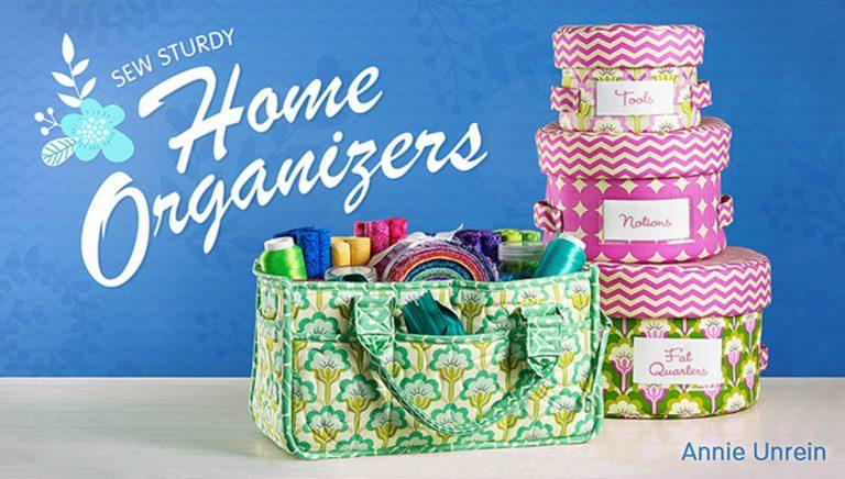 Sew Sturdy: Home Organizers
