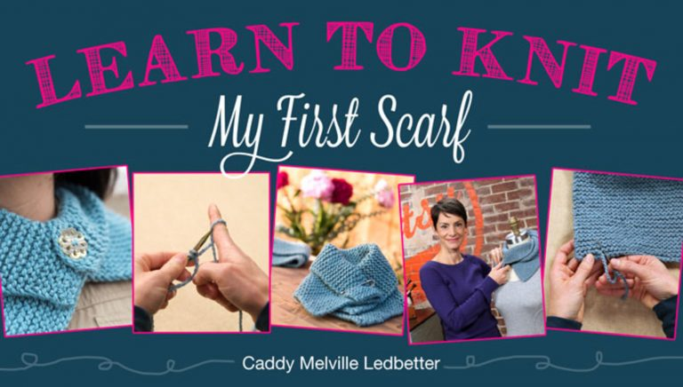 Learn to Knit: My First Scarf