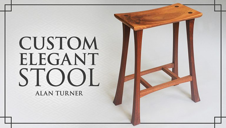 Custom Elegant Stool