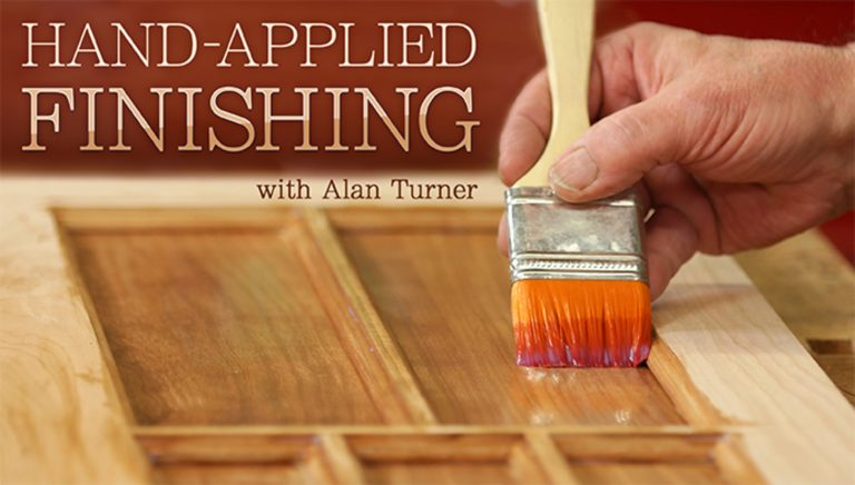 Hand-Applied Finishing