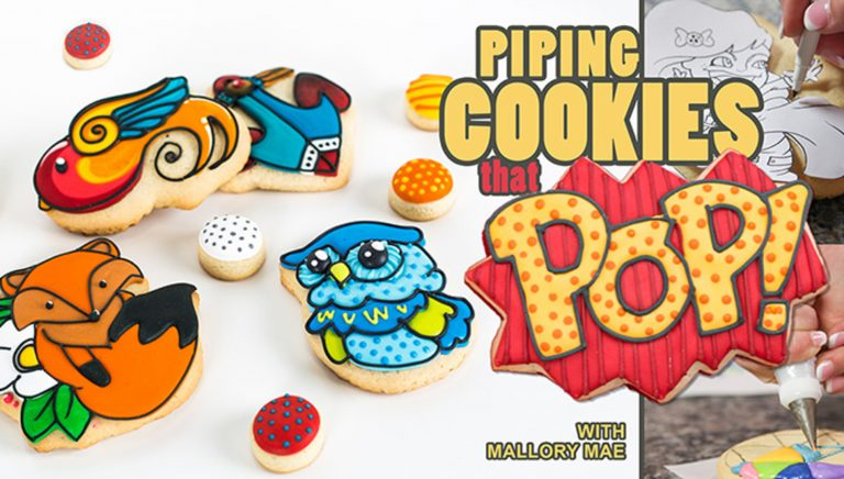 Piping Cookies That Pop!