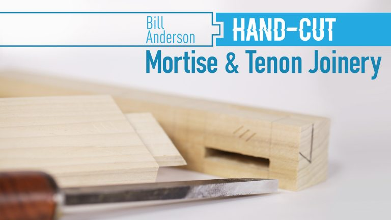 Hand-Cut Mortise & Tenon Joinery