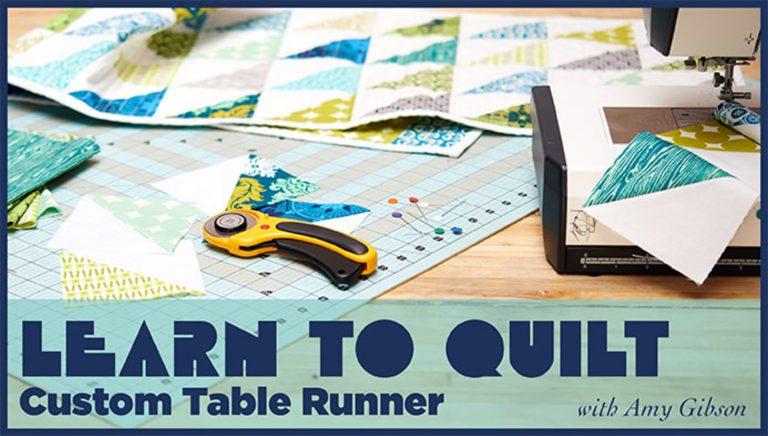 Learn to Quilt: Custom Table Runner