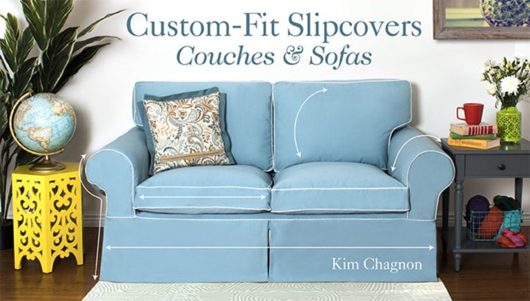 Custom-Fit Slipcovers: Couches & Sofas