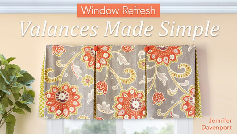 Window Refresh: Valances Made Simple