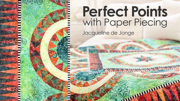 Paper piecing class advertisement