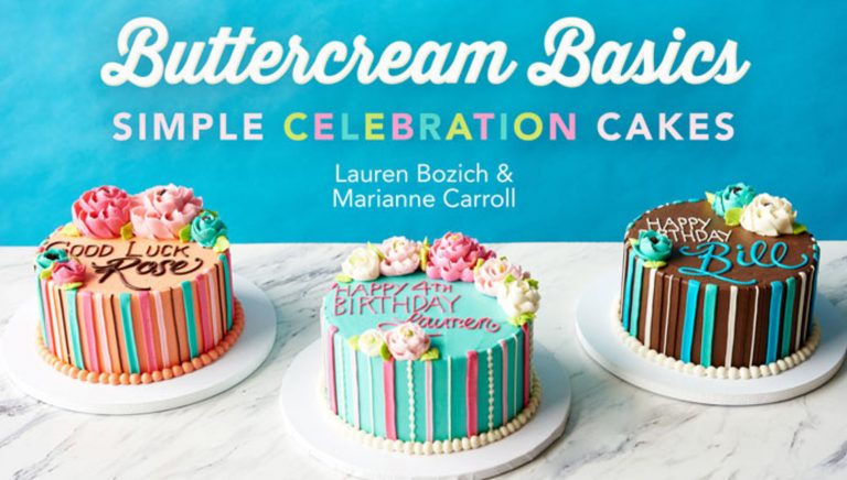 Buttercream Basics: Simple Celebration Cakes
