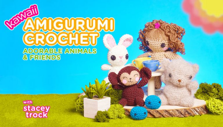 Kawaii Amigurumi Crochet: Adorable Animals & Friends