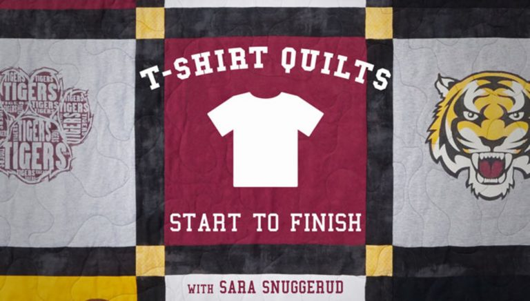 T-Shirt Quilts: Start to Finish