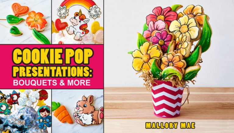 Cookie Pop Presentations: Bouquets & More