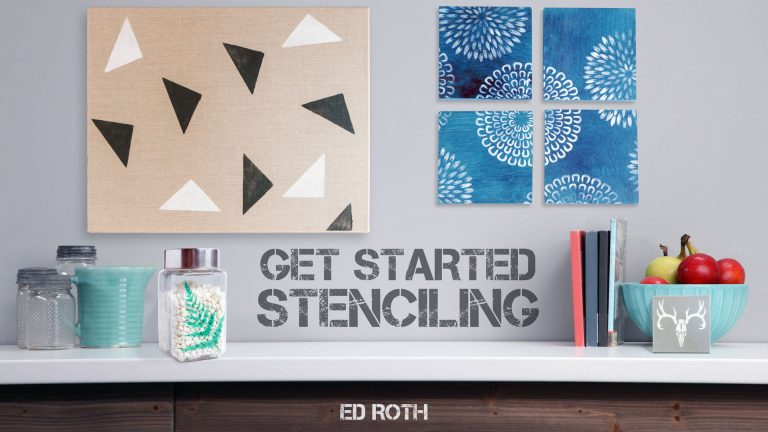 Get Started Stenciling