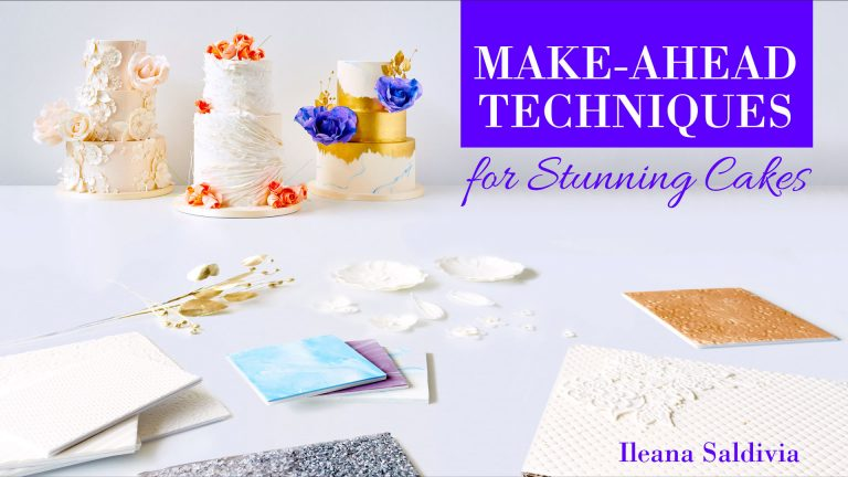 Make-Ahead Techniques for Stunning Cakes
