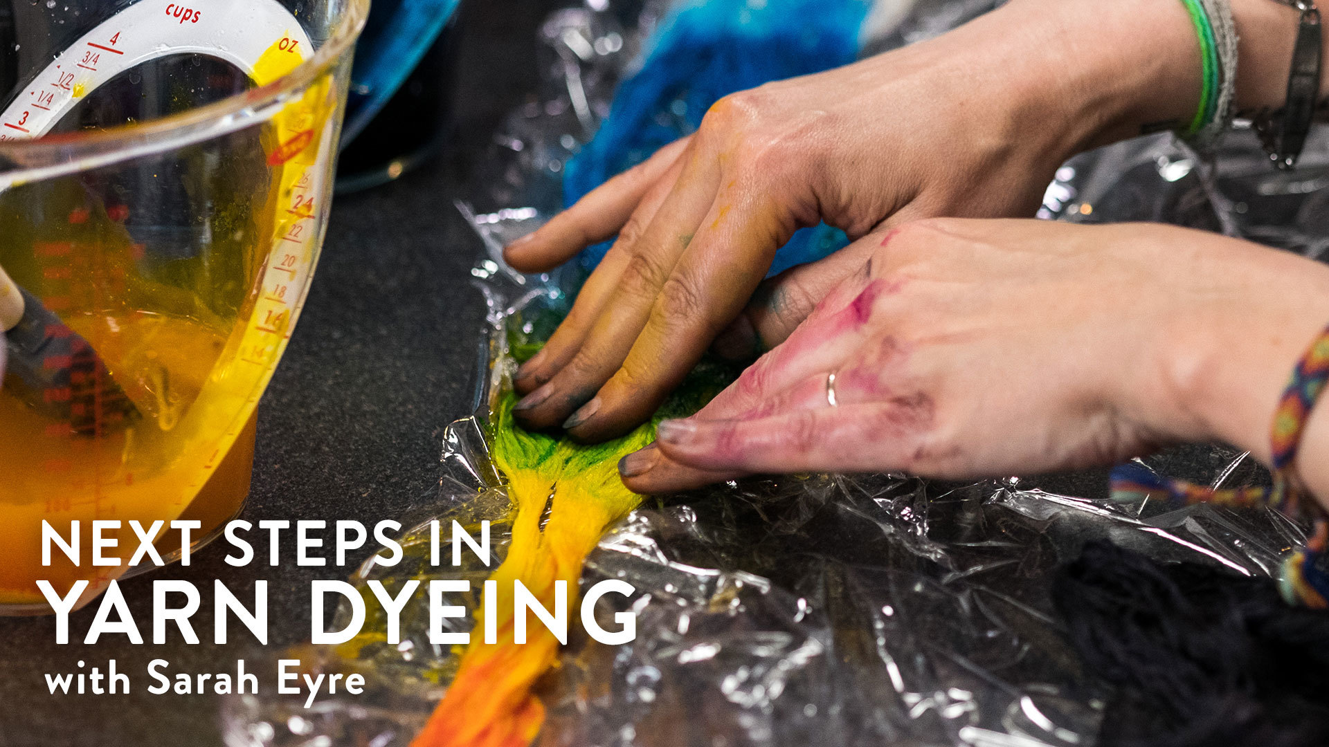 Next Steps in Yarn Dyeing