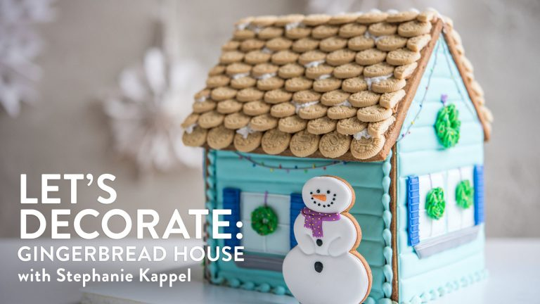 Let's Decorate: Gingerbread House