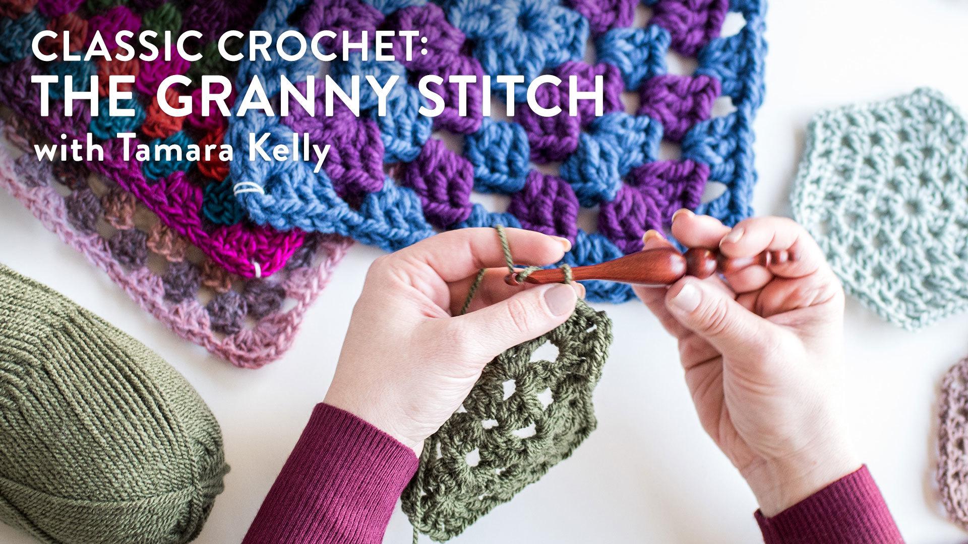 Classic Crochet: The Granny Stitch